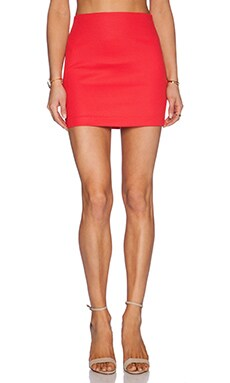 BCBGeneration Mini Skirt in Passion