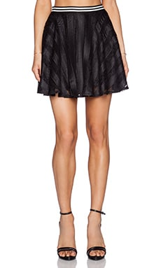BCBGeneration Circle Skirt in Black