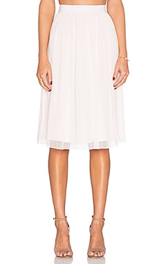 BCBGeneration Midi Skirt in Pink Dove