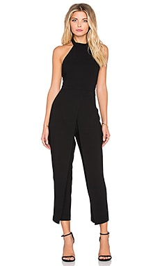 BCBGeneration Halter Jumpsuit in Black