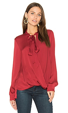 Surplice Blouse in Apple