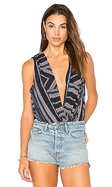 Faux Wrap Bodysuit