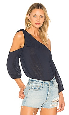 One Shoulder Knotted Top