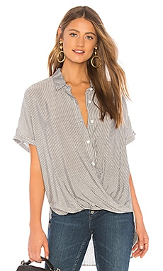 Wrap Hem Dolman Sleeve Shirt BCBGeneration $78
