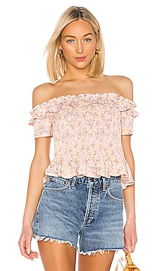 e29db9185be387 Smocked Off Shoulder Top BCBGeneration $78 BEST SELLER ...