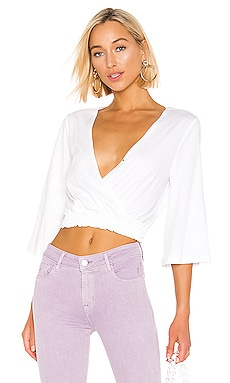 Surplice Knit Top BCBGeneration $68