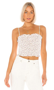 Smocked Crop Top BCBGeneration $48