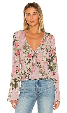 Bow Front Long Sleeve Top BCBGeneration $88 BEST SELLER