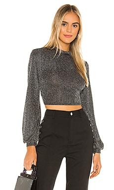 Mock Neck Crop Top BCBGeneration $68