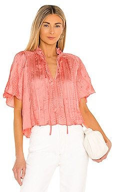 Crinkle Satin Blouse BCBGeneration $88 BEST SELLER