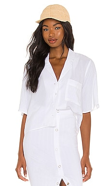Button Front Top BCBGeneration $68