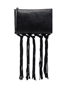 BCBGeneration The Dreamweaver Clutch in Black