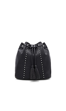 Tassel Backpack in Black