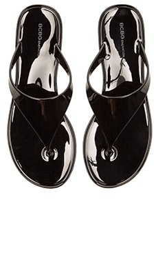 BCBGeneration Starr Flip Flop in Black