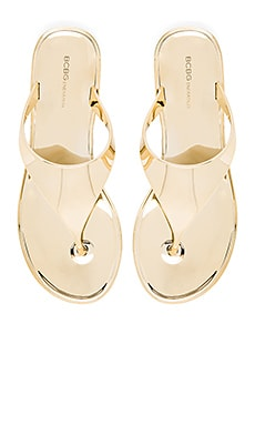 BCBGeneration Starr Flip Flop in New Gold