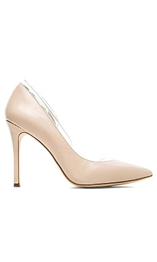 BCBGeneration Tricky Heel in Nude Blush & Clear