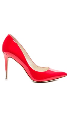 Treasure Heel in Candy Red