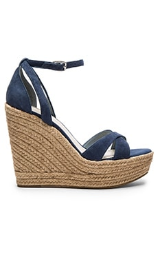 Holly Wedge in Medium Blue