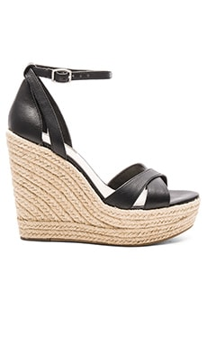 Holly Wedge in Black