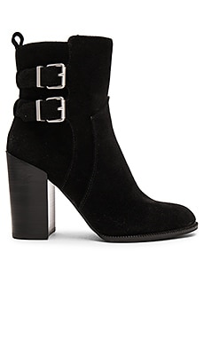 Savanna Bootie in Schwarz