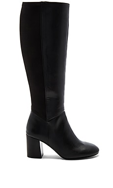 Dice Boot in Black