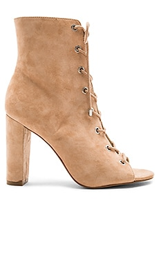 Ripley Lace Up Bootie in Latte