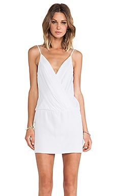 Bella Mini Dress en Blanc