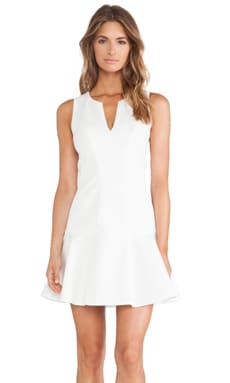 Black Halo x REVOLVE Nova Mini Dress in Winter White