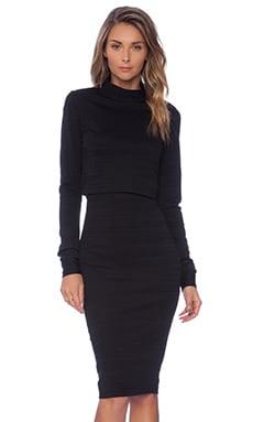 Black Halo Vada 2 Piece Dress in Black