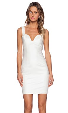 Black Halo Tacoma Sheath Dress in Coconut