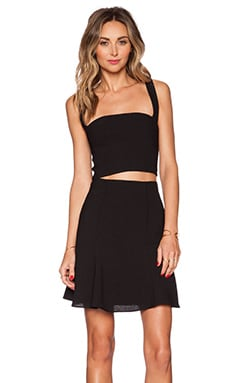 Black Halo Laredo 2 Piece Dress in Black