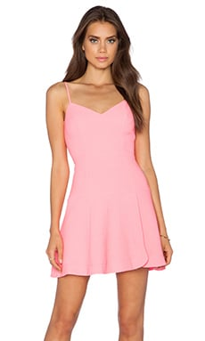 Kierrah Mini Dress in Pink Freeze