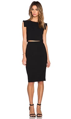Black Halo Cahill 2 Piece Sheath in Black