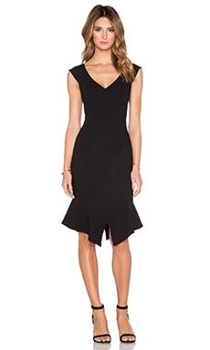 Black Halo Kaminski Sheath Dress in Black