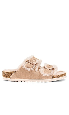 Arizona Shearling Sandal BIRKENSTOCK $150 NEW