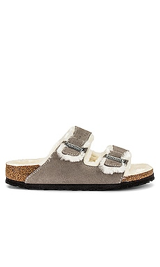 Arizona Shearling Sandal BIRKENSTOCK $150