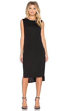 Bishop + Young Open Sides Knit Dress in Black