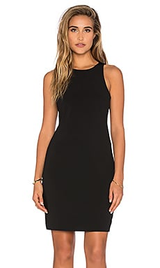 Bishop + Young Cut Out Dress in Black