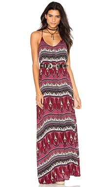 Maxi Dress in Paisley Print