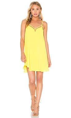 Cross Strap Dress in Yellow