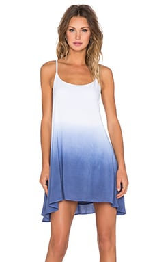 Bishop + Young Dip Dye Dress in Blue
