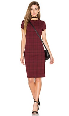 Bishop + Young Ellie Plaid Mini Dress in Plaid