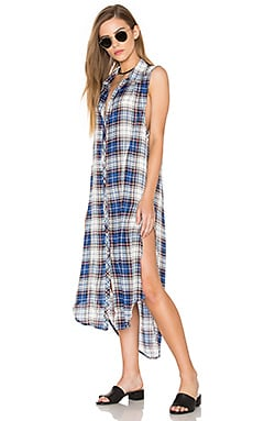 Bishop + Young Plaid Tunic Tank Dress in Plaid