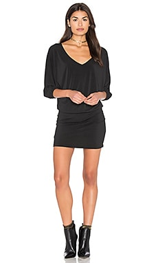 Double V Dolman Dress