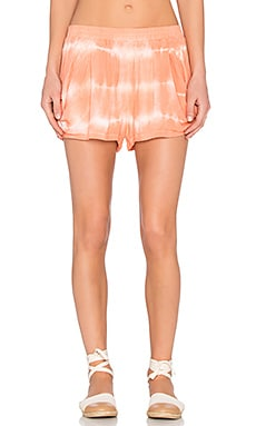 Bishop + Young Tie Dye Short in Coral