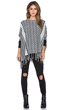 Bishop + Young Fringe Sweater in Black
