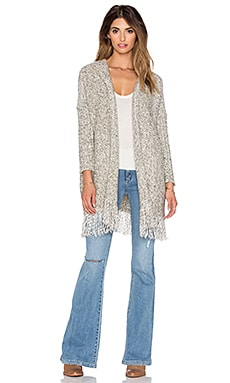 Bishop + Young Fringe Cardigan in Grey
