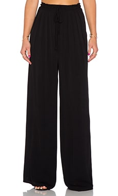 Bishop + Young Palazzo Wide Leg Pant in Black