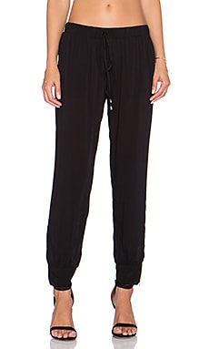 Bishop + Young Drawstring Pant in Black