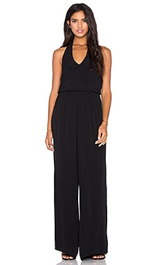Bishop + Young Halter Pant Jumpsuit in Black